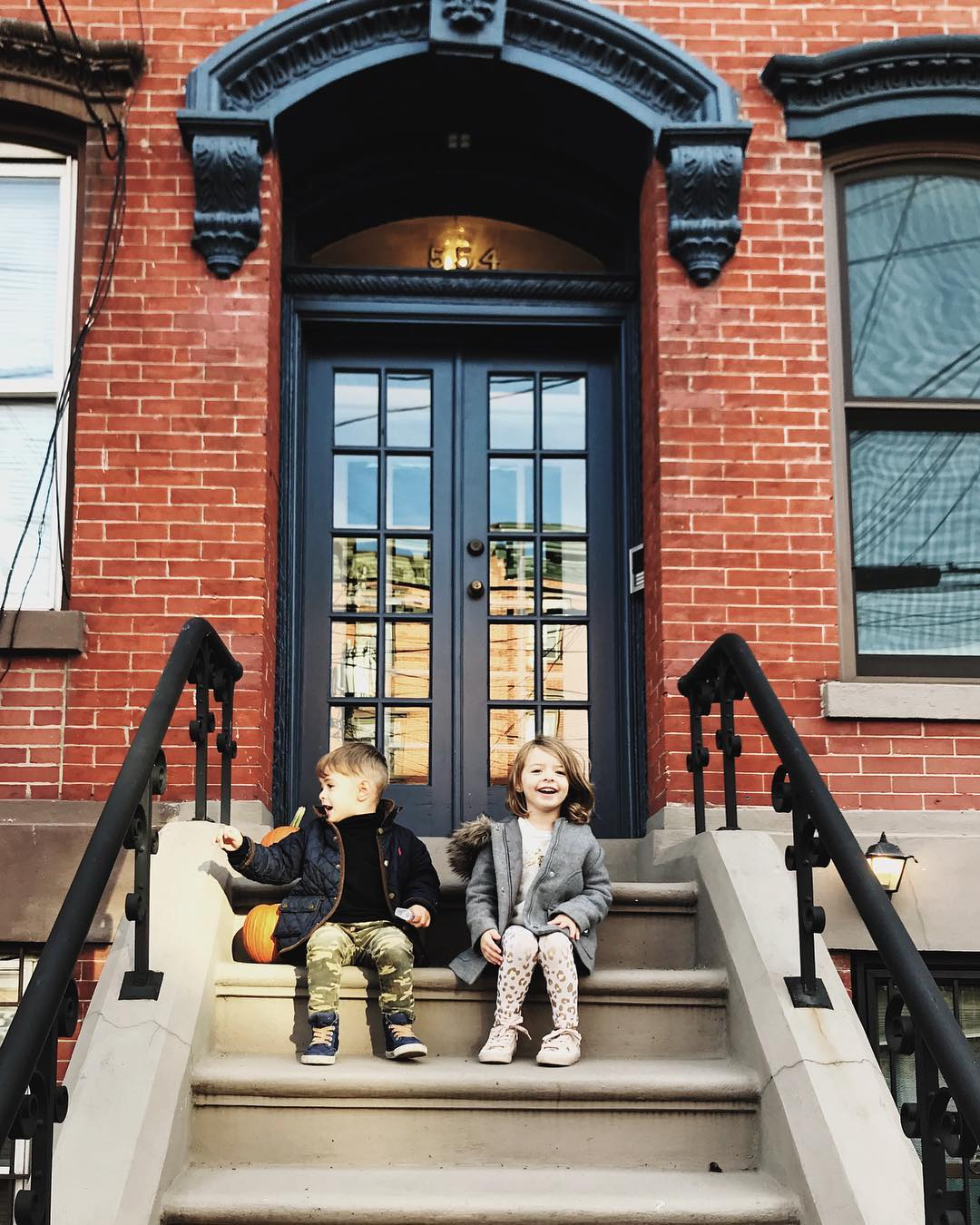 Brownstones in Jersey City…NYC #bye