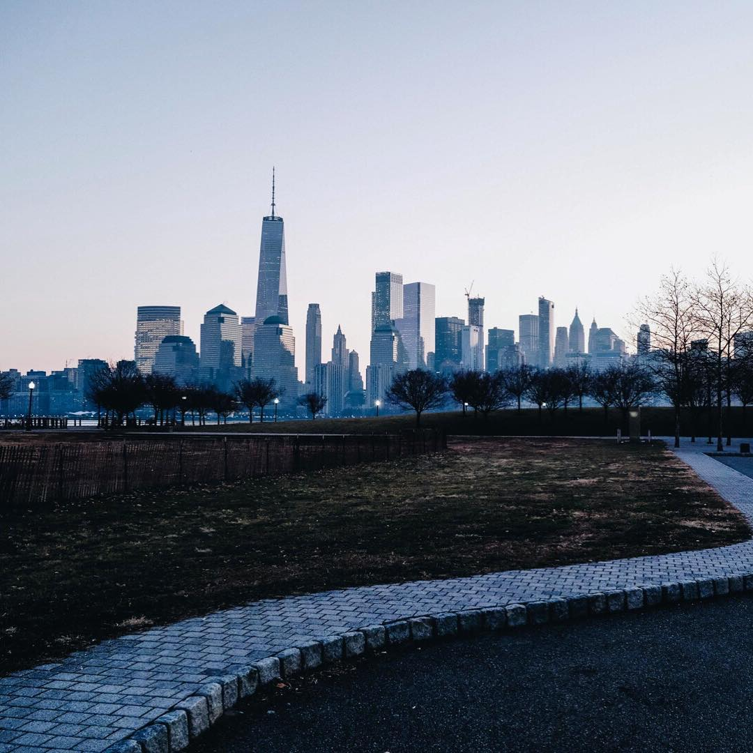 Liberty Street Park looking over some sweet skyline views