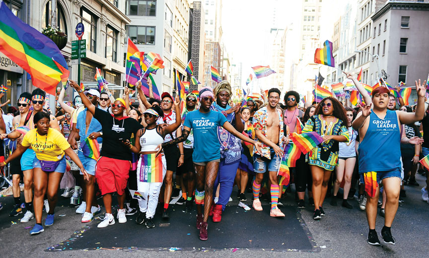NYC gay pride parade is here!