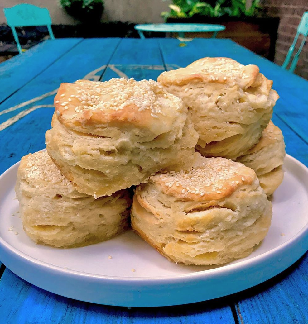 Brown Butter's biscuits are better than this picture and this picture is amazing.