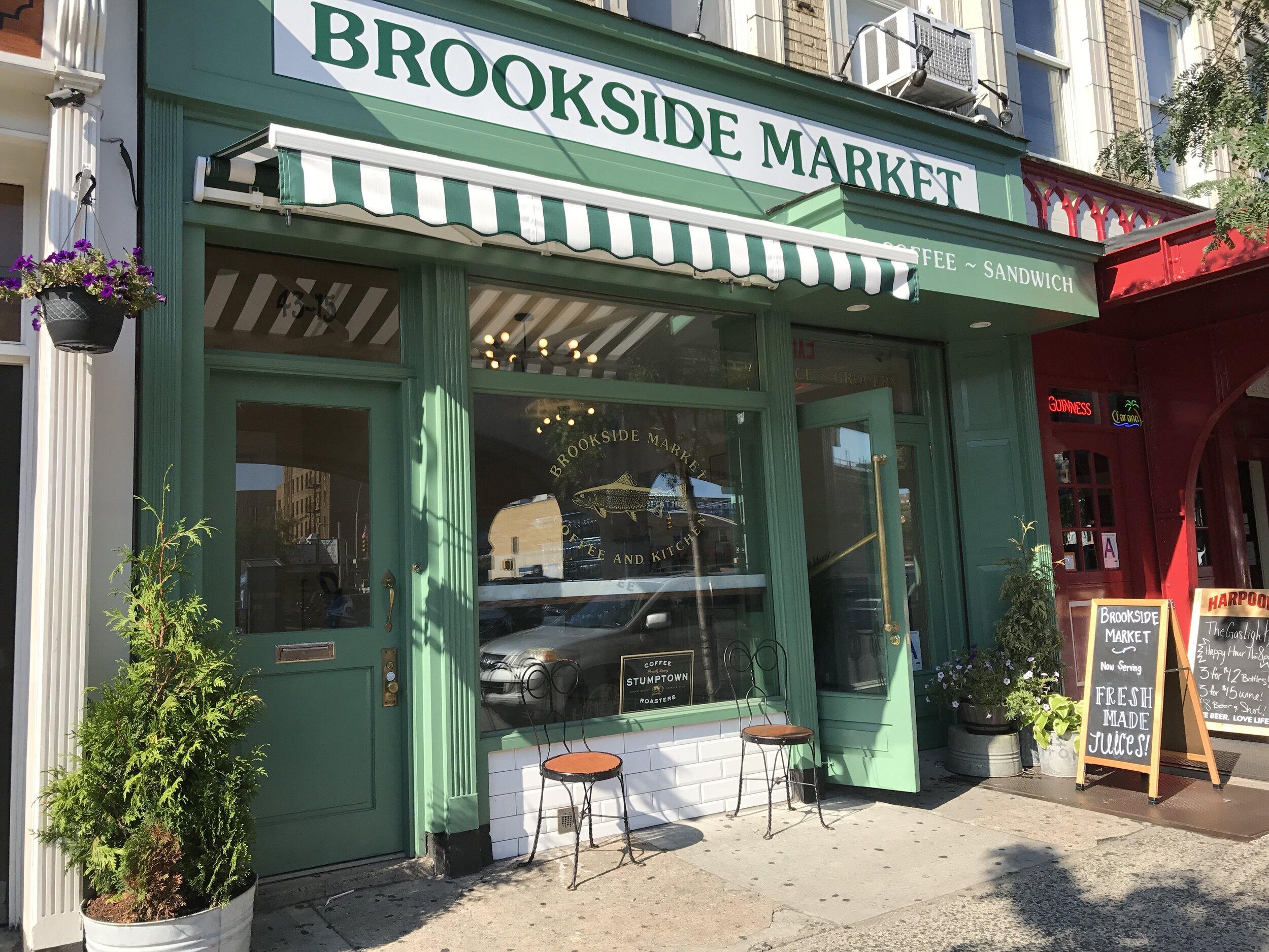 Brookside market sunnyside queens