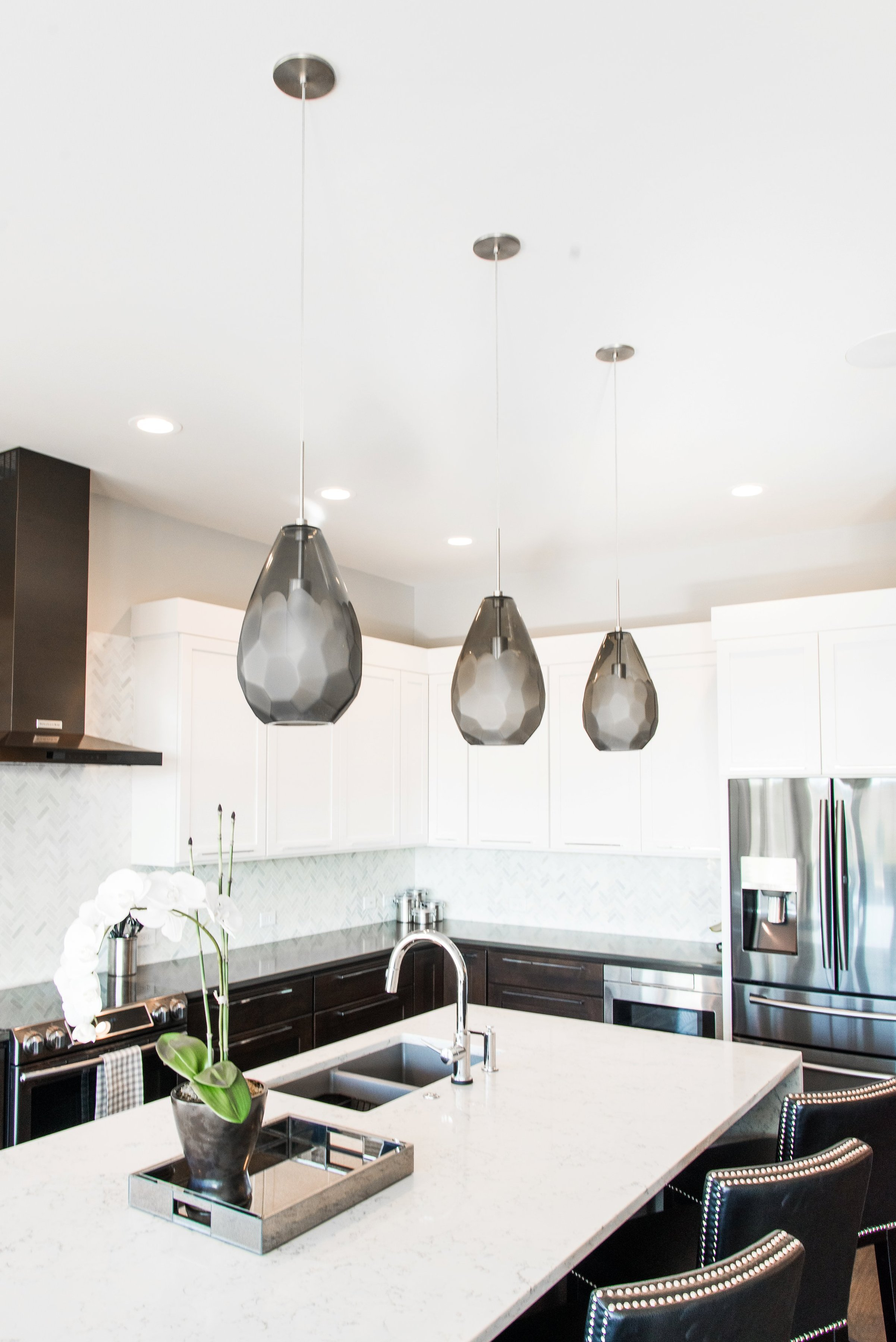 LO Interiors, Modern Town Home