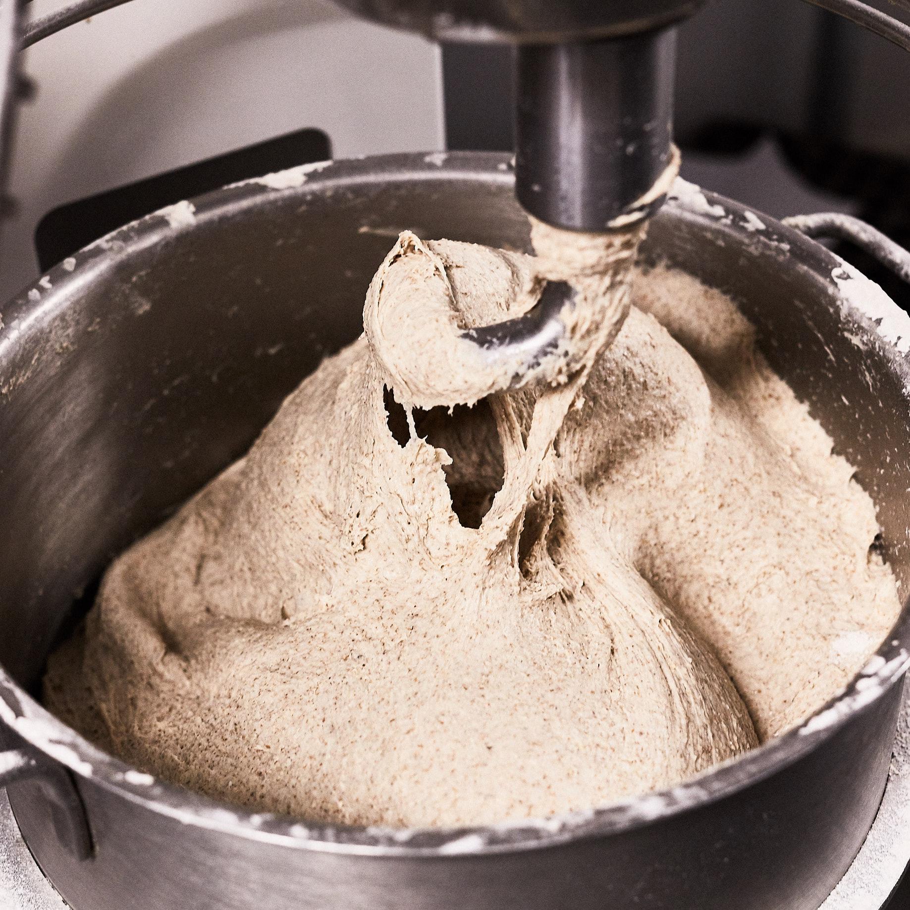Bollerne - Dejen, der bliver til vores gode boller,bliver altid lavet helt fra bunden i Mokkariets bageri af kokken Faiz.