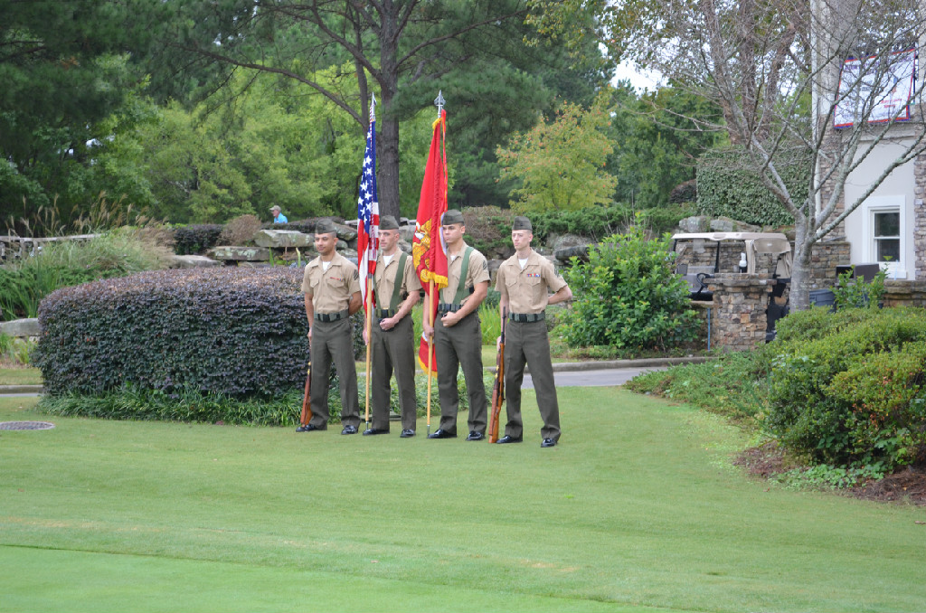 United States Marine Corps Color Guard