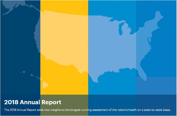 Annual Report - The Annual Report is the longest running annual assessment of the nation's health on a state-by-state basis. For nearly three decades, America's Health Rankings® Annual Report has analyzed a comprehensive set of behaviors, public and health policies, community and environmental conditions, and clinical care data to provide a holistic view of the health of the people in the nation.2019 Copyright United Health Foundation