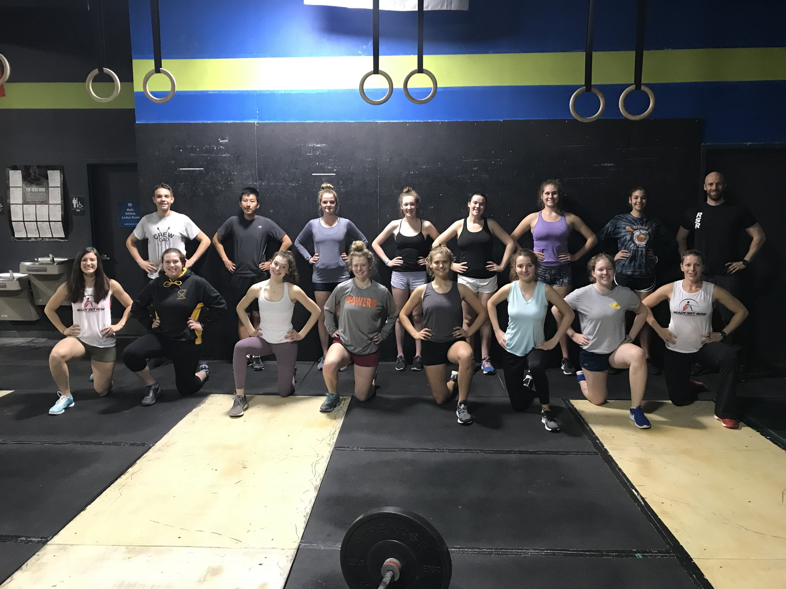 Athletes joined us from NC, NY, CO, VA, FL, and CT for our RSR 3-DAY 2K Clinic - and we had a blast!