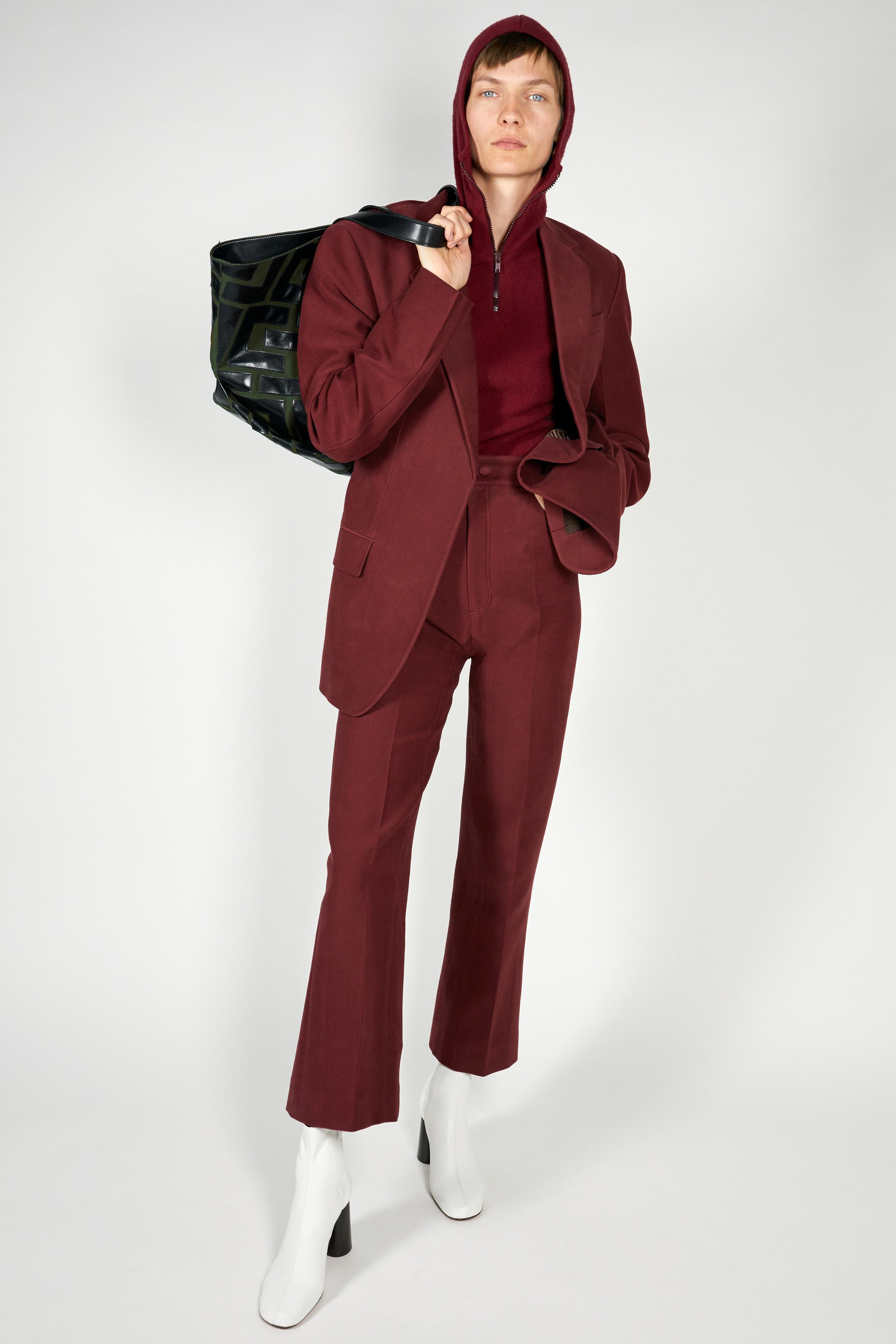 A maroon suit I can't stop thinking about.