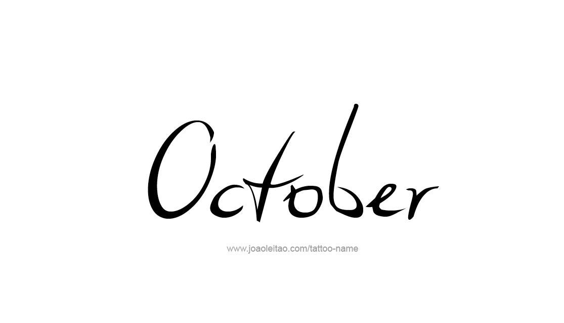 tattoo-design-months-name-october-01.png