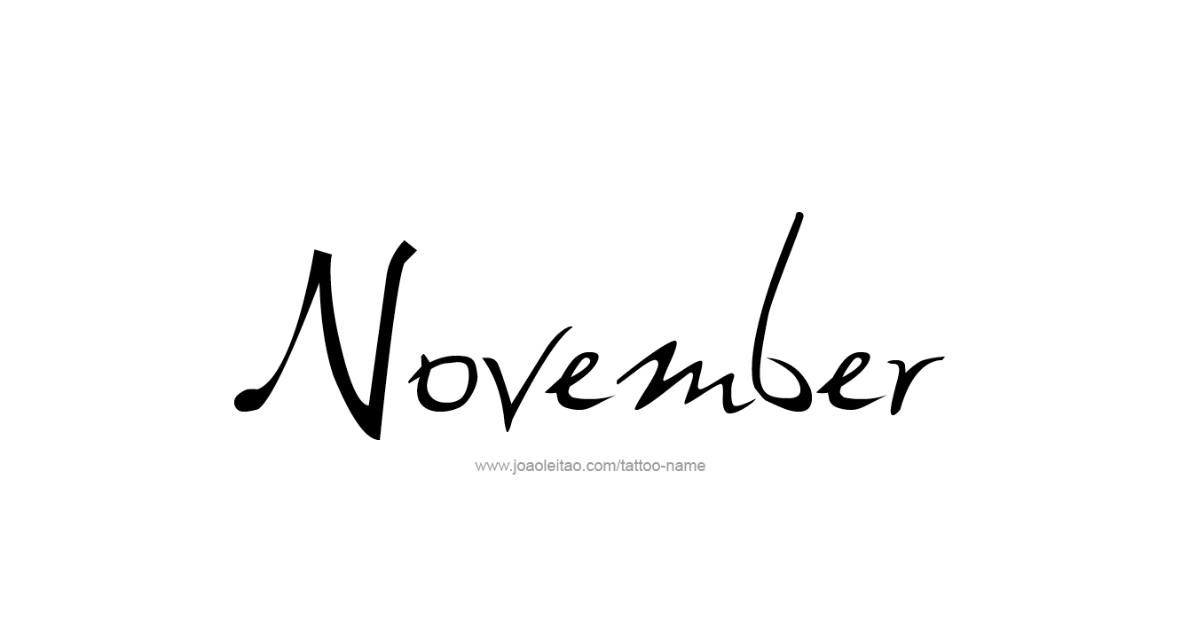 tattoo-design-months-name-november-01.png