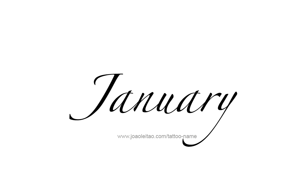 tattoo-design-months-name-january-07.png