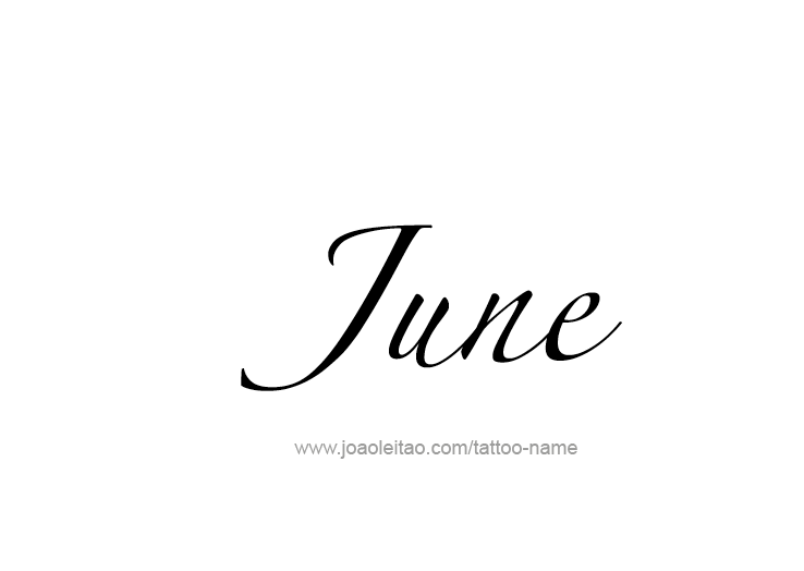 tattoo-design-months-name-june-15.png