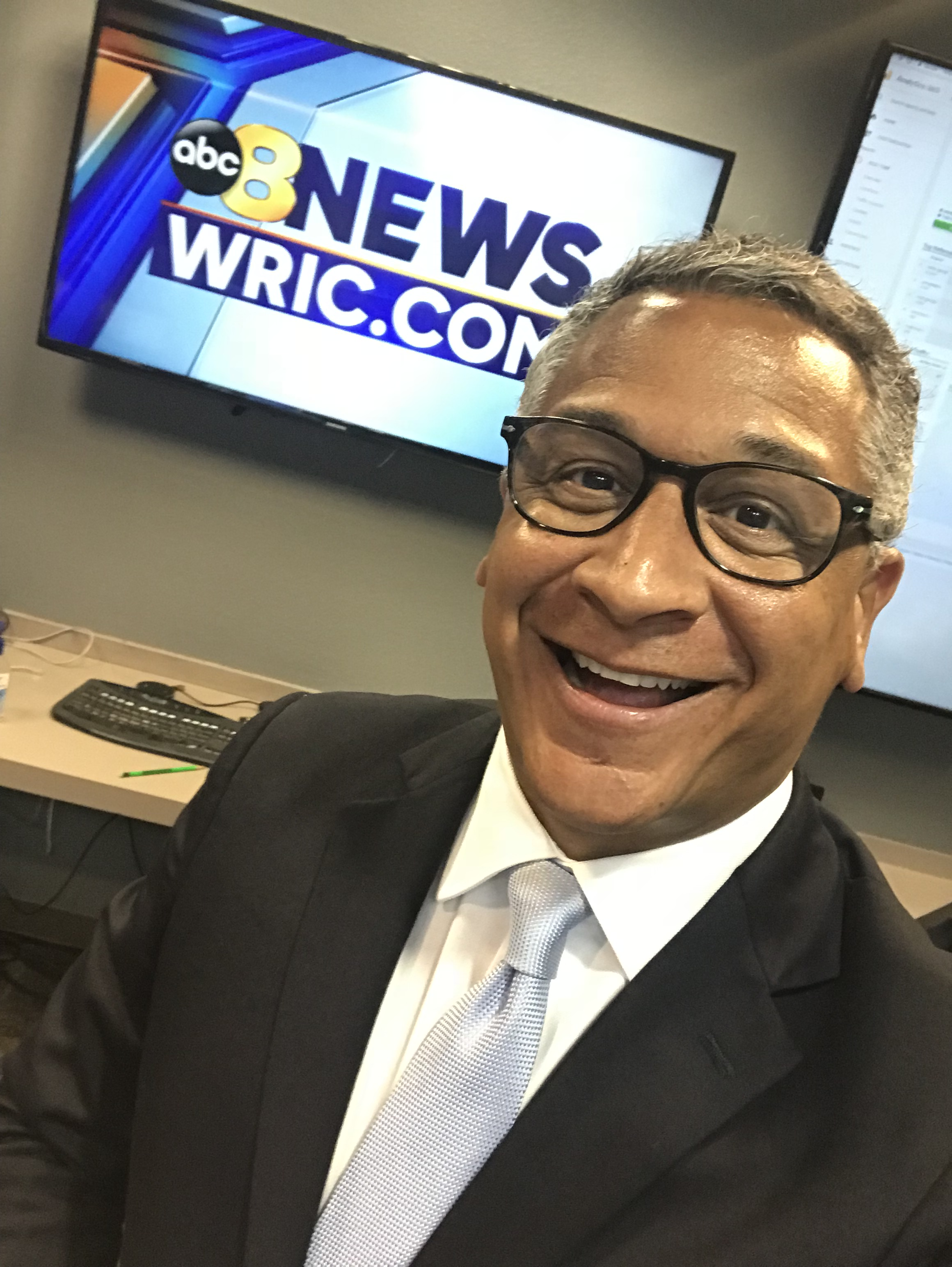Juan Conde, anchor for 8News