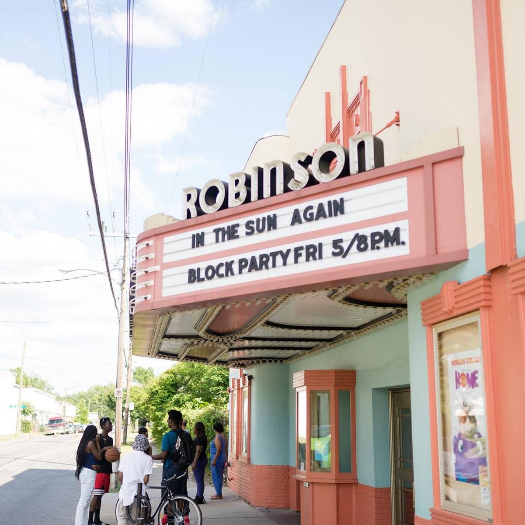 2019 grant award recipient Robinson Theater Community Arts Center