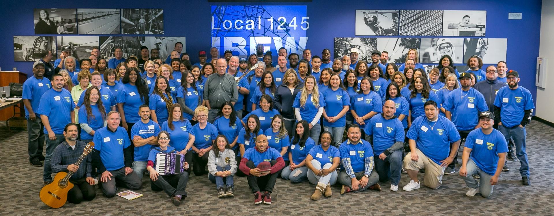 IBEW Local 1245 Organizing Stewards