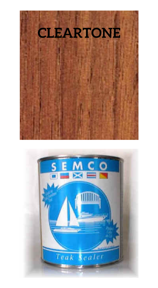 SEMCO Teak Sealer Cleartone    *Gallon:  $76.50  *Quart:  $29.99  *Pint:  $20.99   Click Here to Purchase!