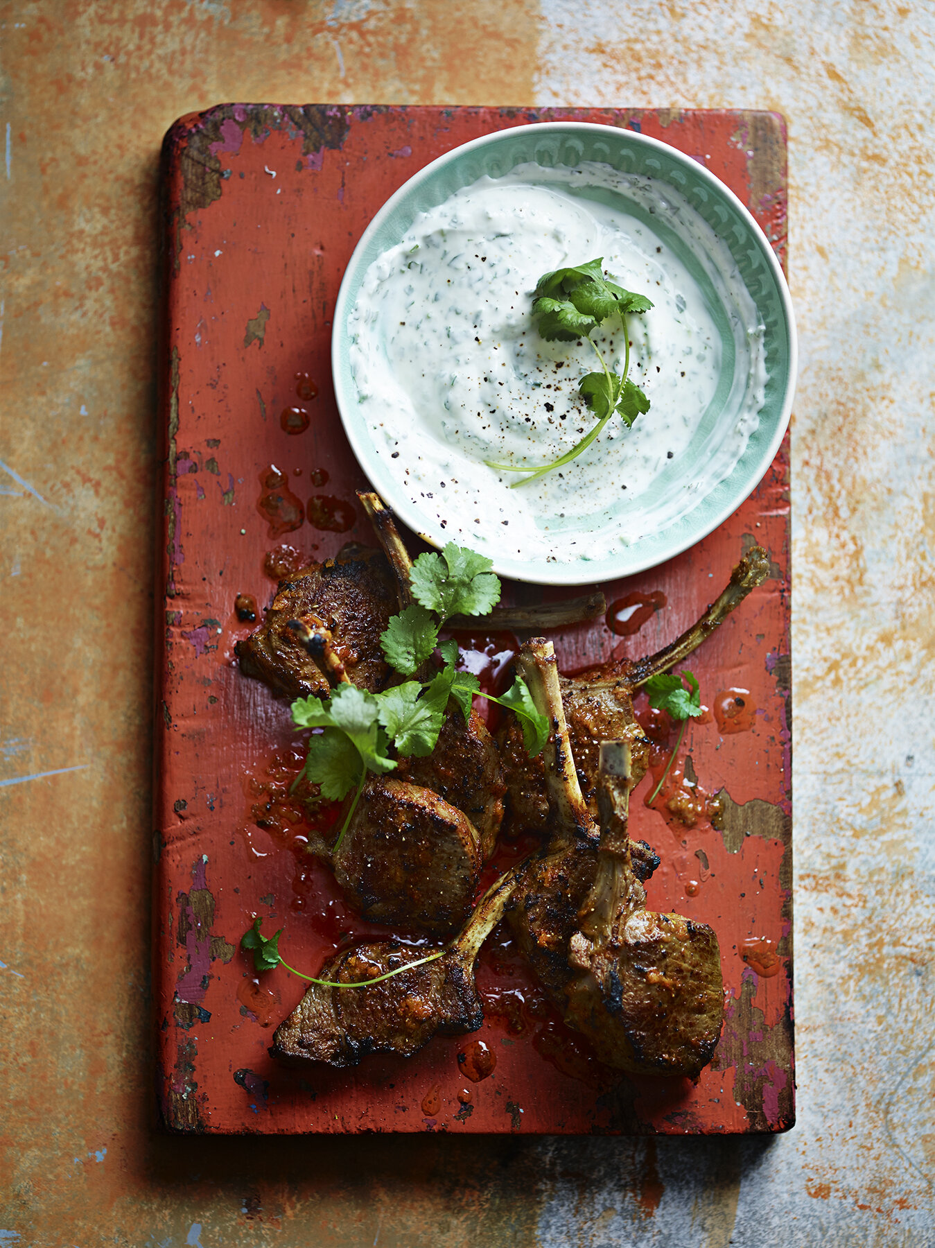 Grilled Lamb Cutlets with Green Herb Yoghurt.jpg
