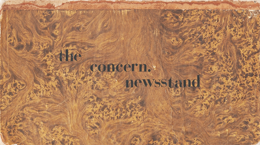 The Concern Newsstand
