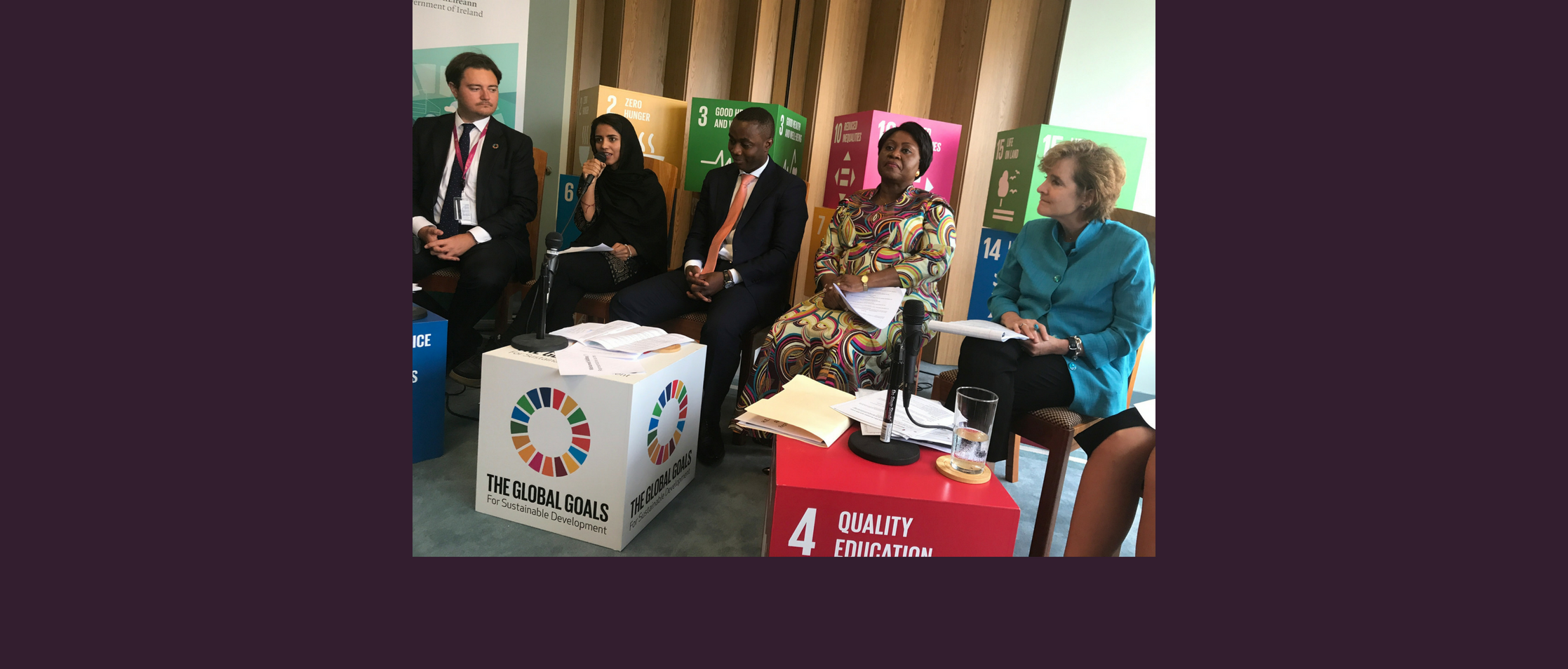 Panelist at United Nations High-Level Political Forum Education & Health Event: Keeping Girls in School