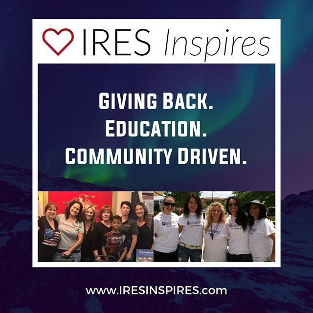 We are committed to empowering, encouraging, and impacting people and organizations in Las Vegas and beyond. Log on to iresinspires.com for more on how we give back to our community. • • • • • • #iresvegas #realestate #brokerage #BrandyWhiteElk #topagent #lasvegasrealestate #vegasrealtors #hud #broker #vegashomes #summerlinlv #homesweethome #hendersonnevada #lasvegas #buyahouse #sellyourhouse #vegasparents #centennialhills #centennialhillslv #downtownsummerlin #summerlinsouth #summerlin