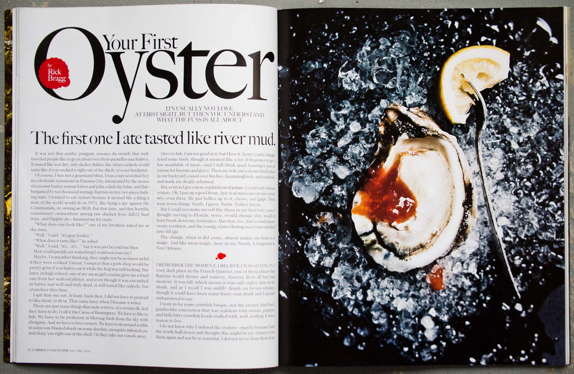 James Beard Award-winning Oyster story by Peter Frank Edwards