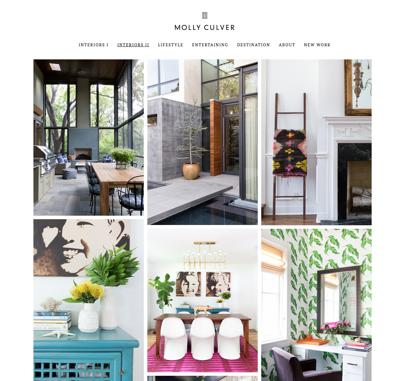 Molly Culver Website Interiors II Gallery