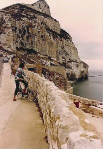 Biking to the Rock