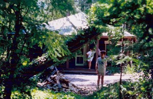 Our cabin in the redwoods