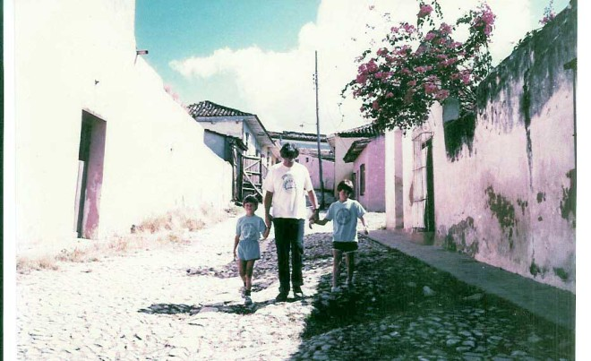 Cobblestone streets of Trinidad