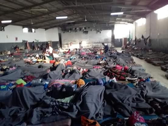 - Frihetsberövade på Tajoura-förvaret vittnar om att de har blivit misshandlade efter att de har talat med internationella besökare.