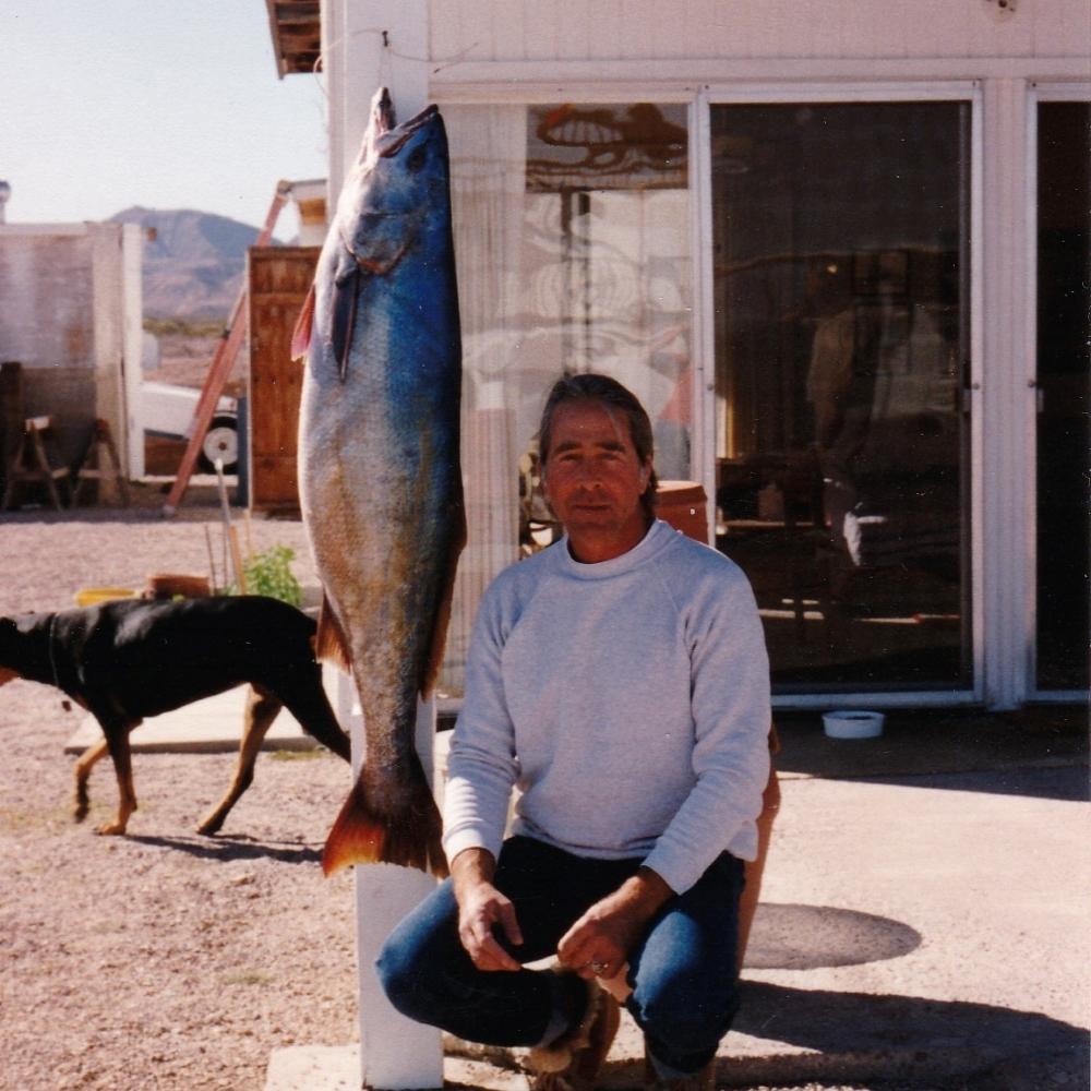 54 pound white sea bass