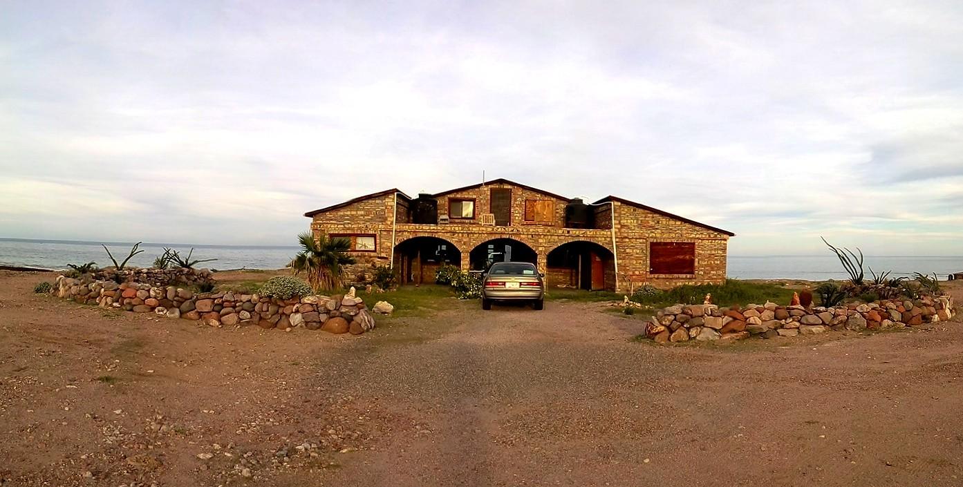 House in Baja, Norte, Mexico