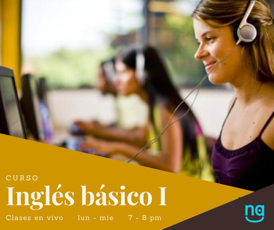 Inglés Básico I - El curso está dirigido a aquellos que tienen conocimientos elementales del inglés. El propósito es ayudar al estudiante a desarrollar sus habilidades en el nuevo idioma que le permitan ir ganando confianza.