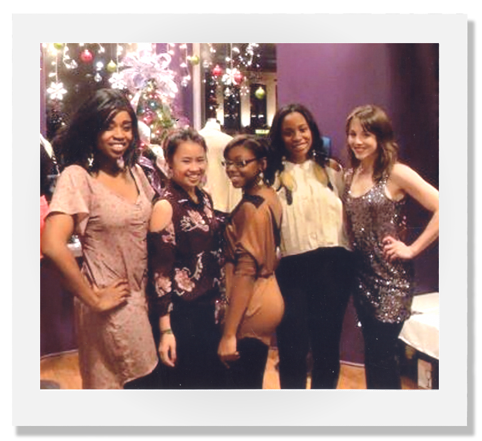 2011 |  The original Violettes after our very first holiday party! We worked so hard that first year to get Violet off the ground and were so happy and proud ourselves after our first holiday party!