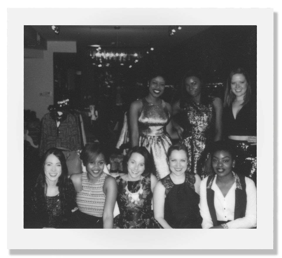 2015 |  We have always hosted an annual holiday party every year to celebrate the season with our customers. This shot is from our last holiday party in Adams Morgan in 2015.