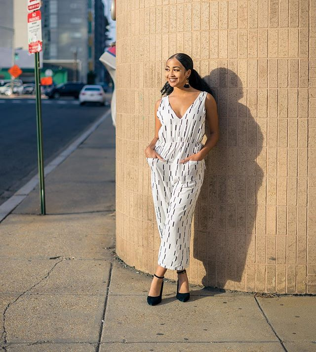 It! Has! Pockets! We're obsessing over this perfect spring jumpsuit! • • • #acreativedc #shawdc #shopvioletdc #dcfashion #shopinshaw #ootd #springstyle #jumpsuitstyle #dcstyle #igdc #bythings #bythingsdc