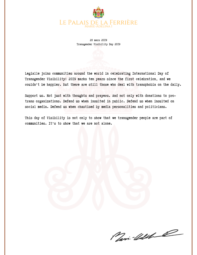 Official Correspondence - HM The Queen .png