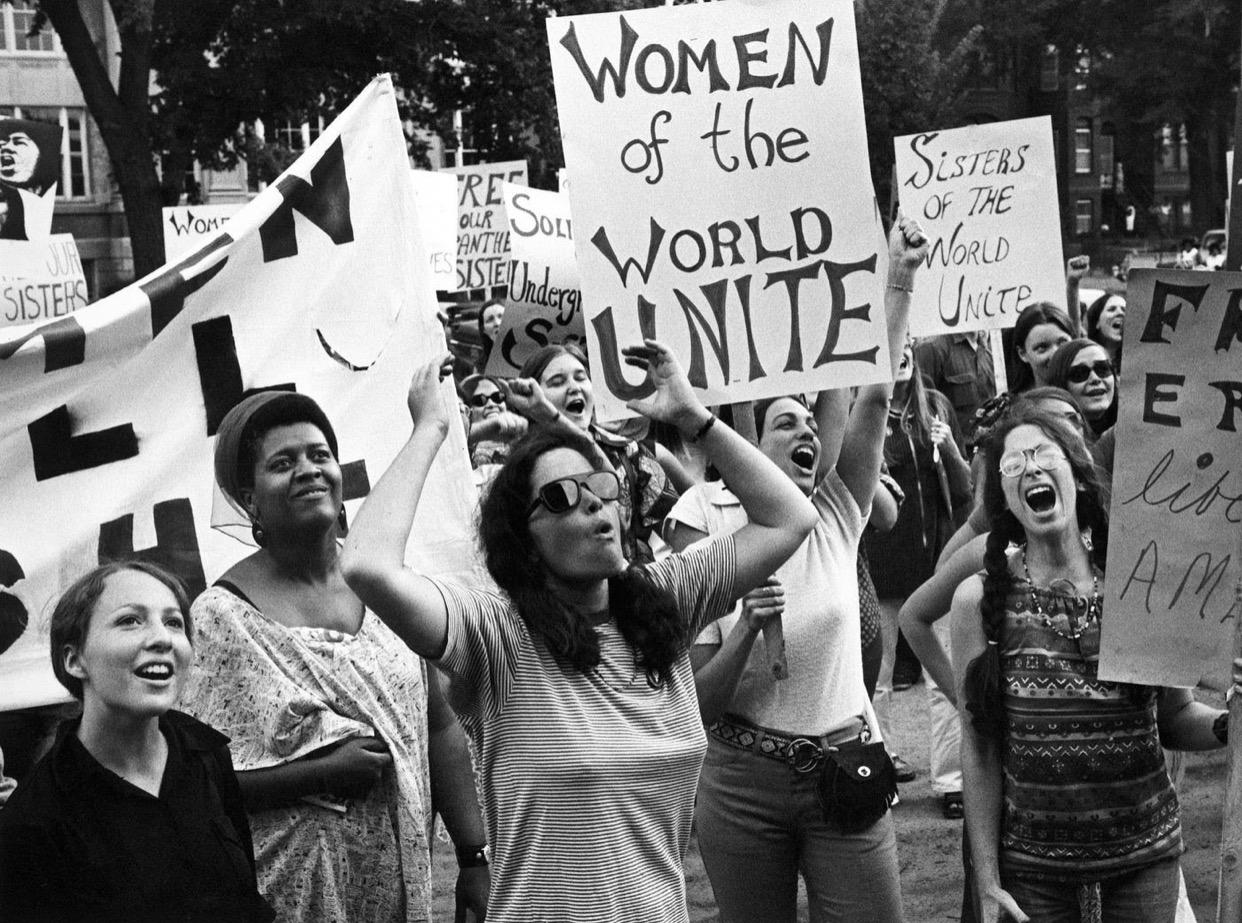 Women's liberation movement in Washington, DC, August 26, 1970. Don Carl Steffen/Gamma-Rapho/Getty Images via Vox.com