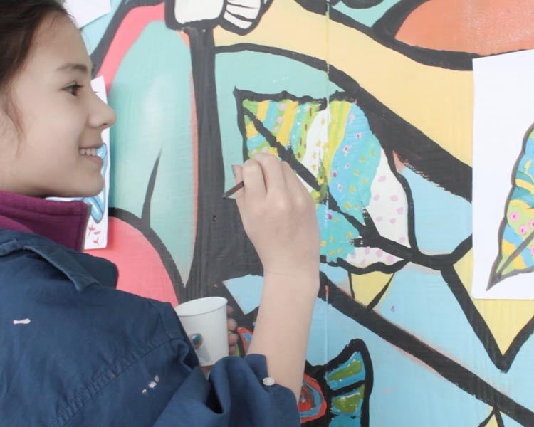Bringing smiles to youth in our community, The Imagination Mural Project is making an impact.