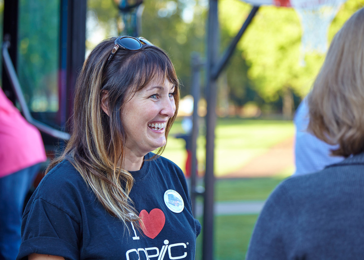 At Work in the Community - We believe that when a handful of dedicated people commit to making their community a healthier, more vibrant place, we all benefit.