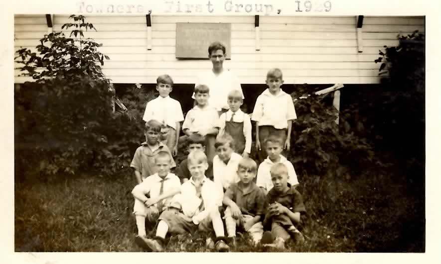 Campers at Camp Wilbur Herrlich, 1929