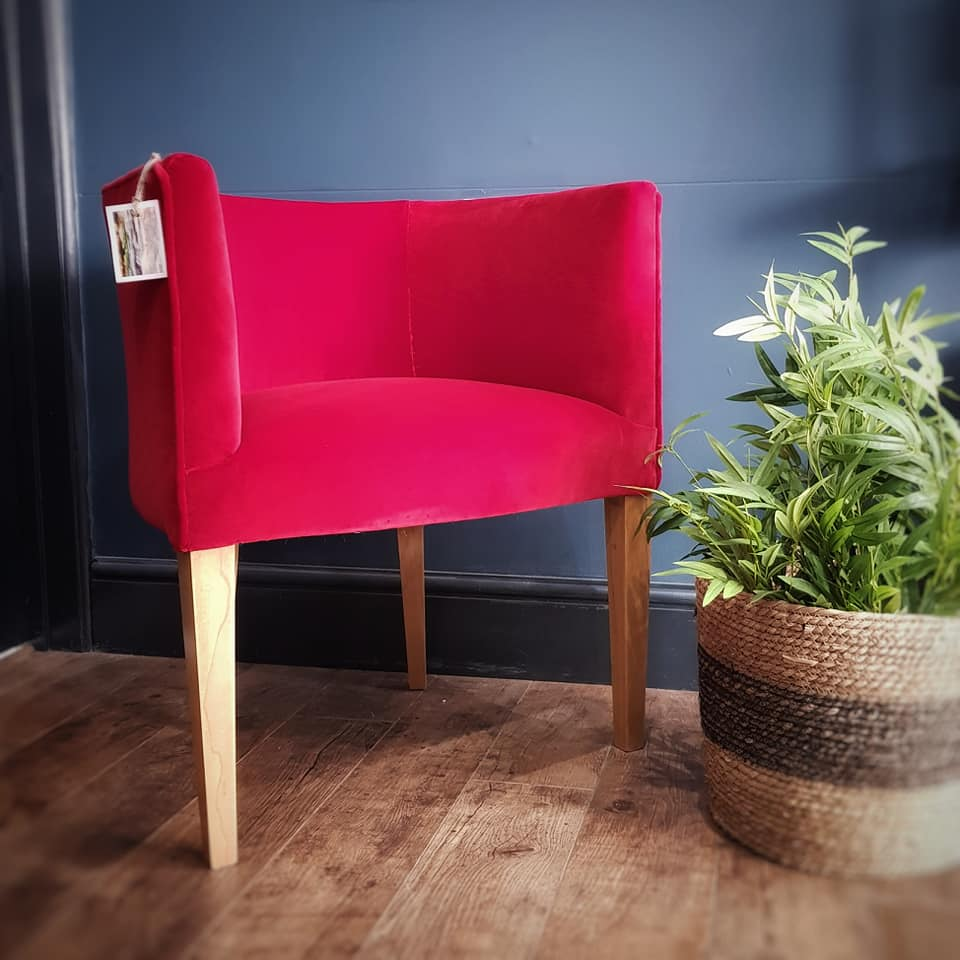 - upcycled furniture