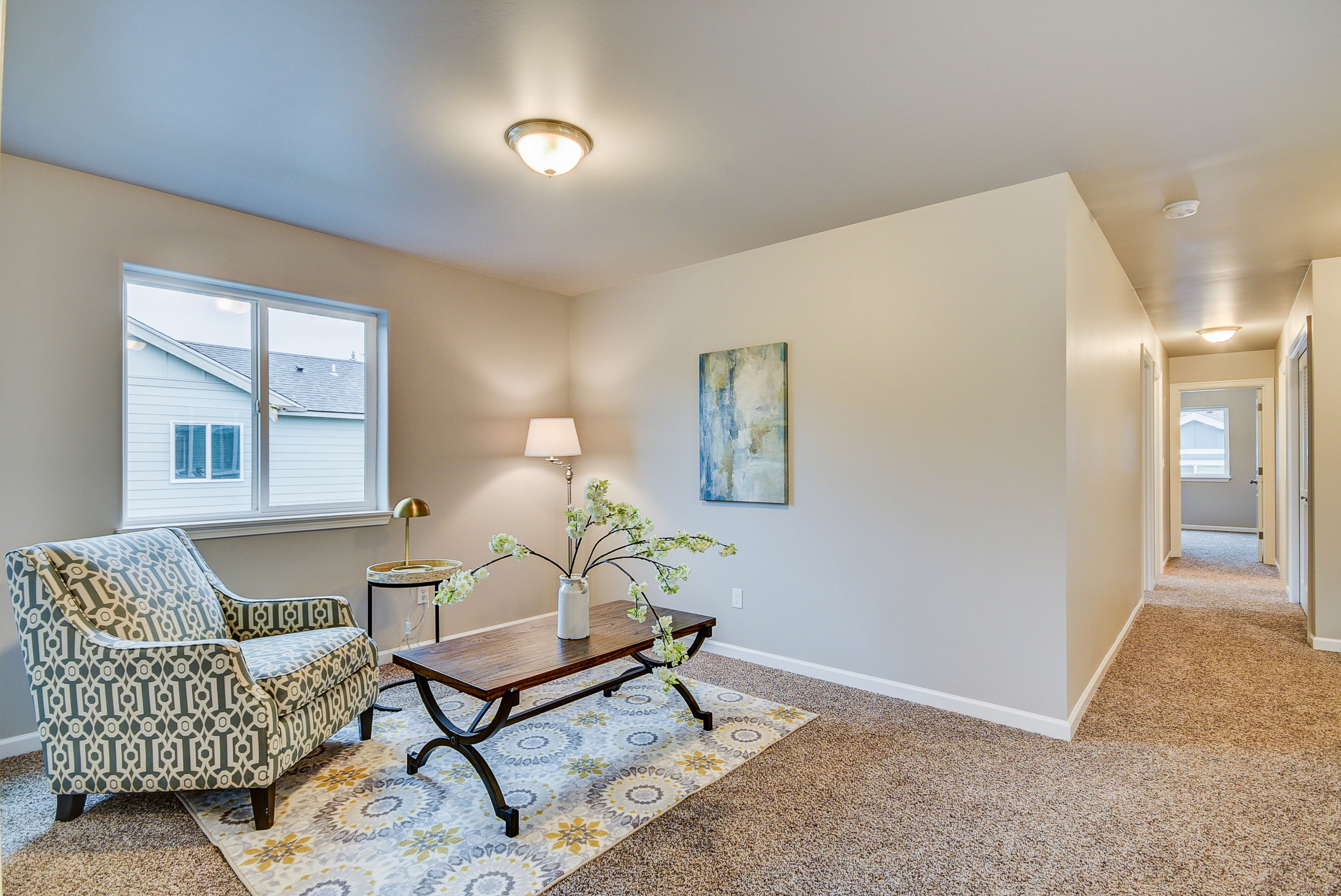 Four bedrooms AND a bonus space! 2nd family room, craft & play area, home office...or 5th bedroom...we have whatever you need!