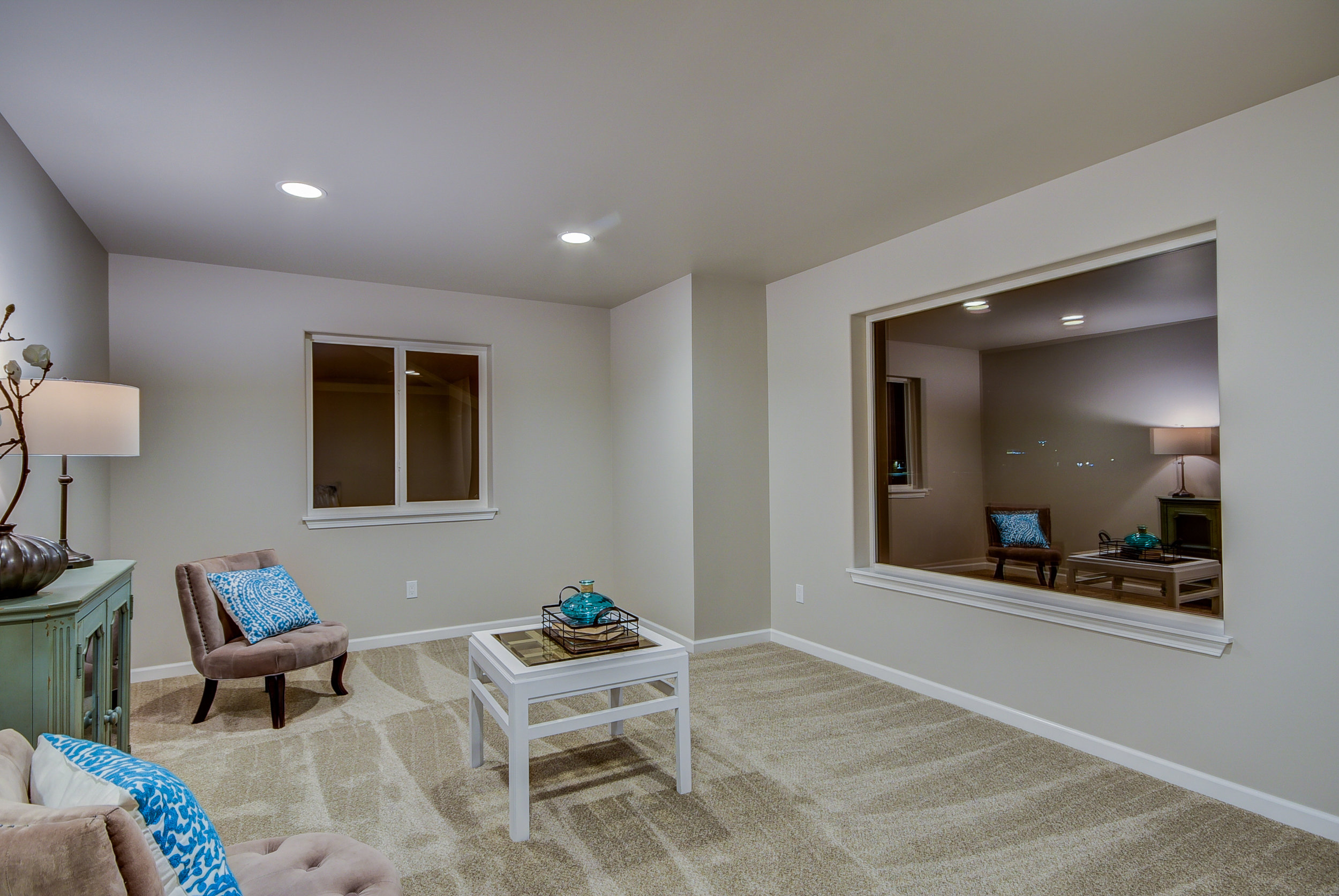 A different perspective of the 2nd family room...