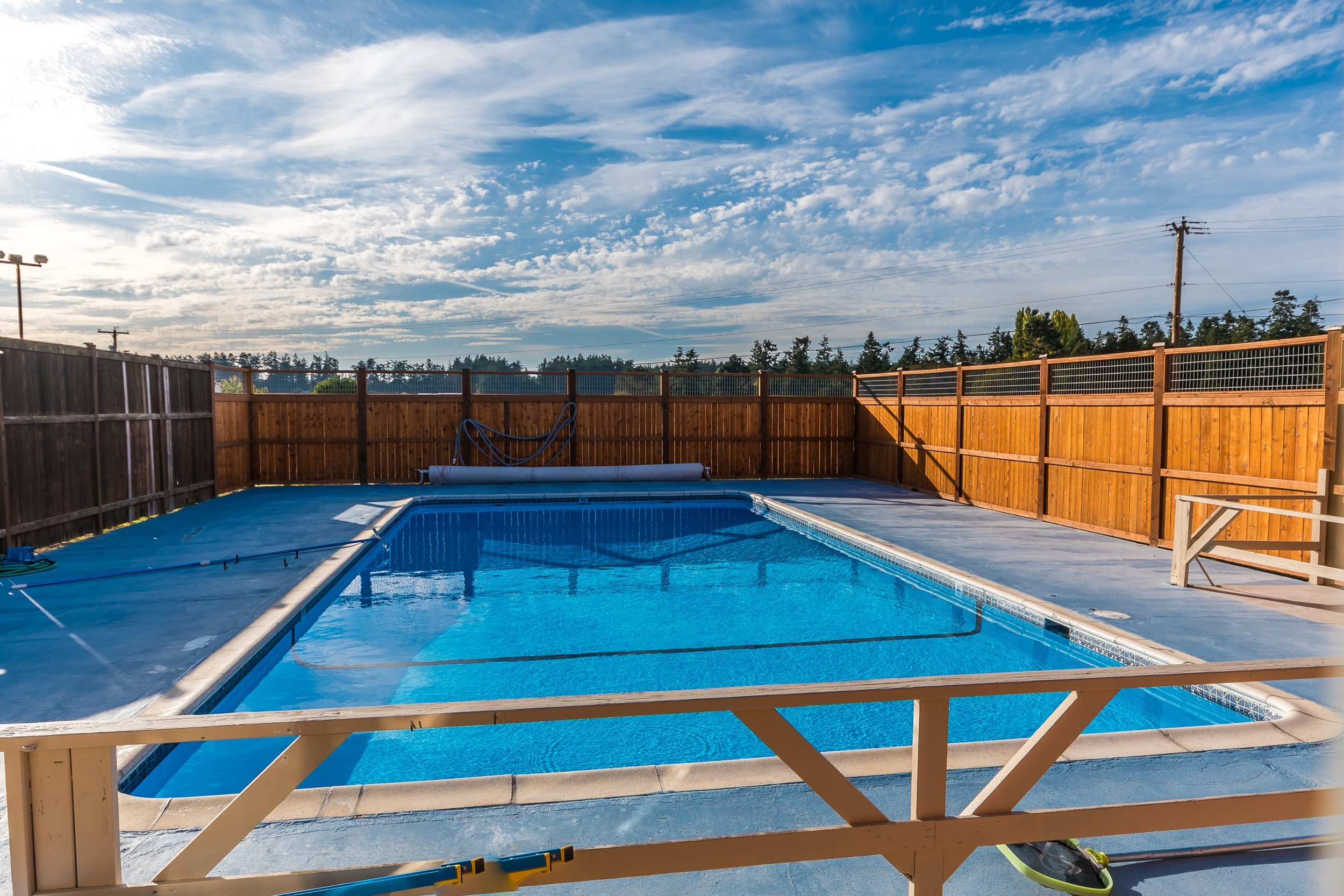 Who wouldn't love to be across the street from the community pool in the summertime?? Answer? NOBODY!