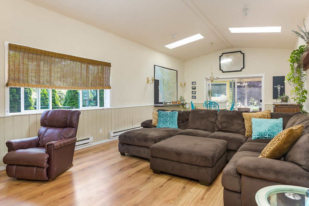 With 12' ceilings, 3 skylights, & radiant heat & natural light...this is just the beginning...
