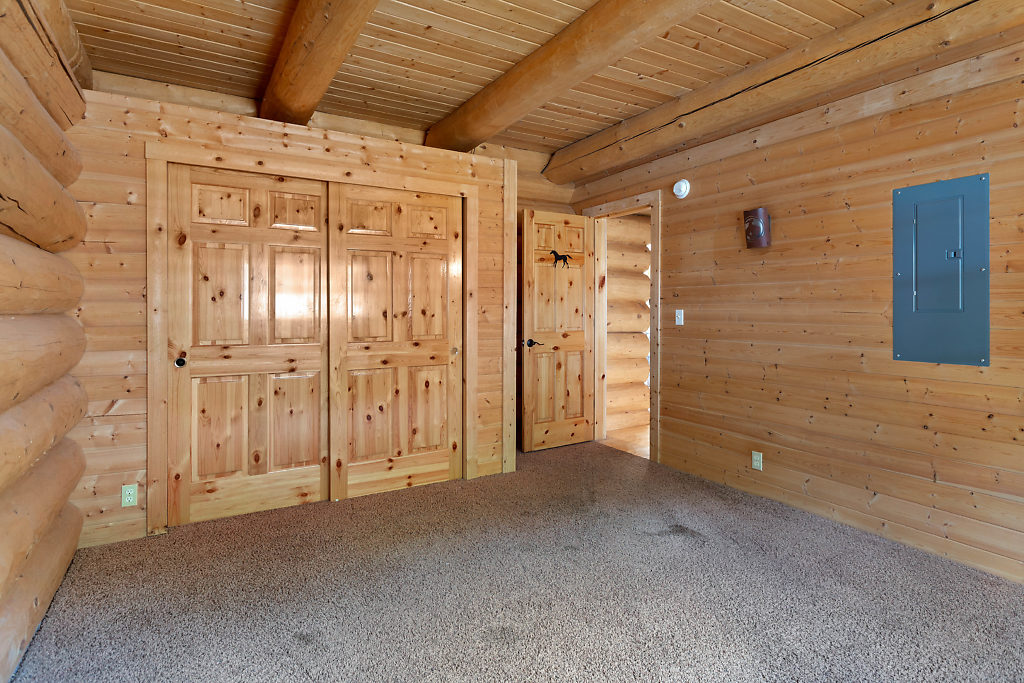 Bedroom 2 on the main level...look at those 6-panel doors!