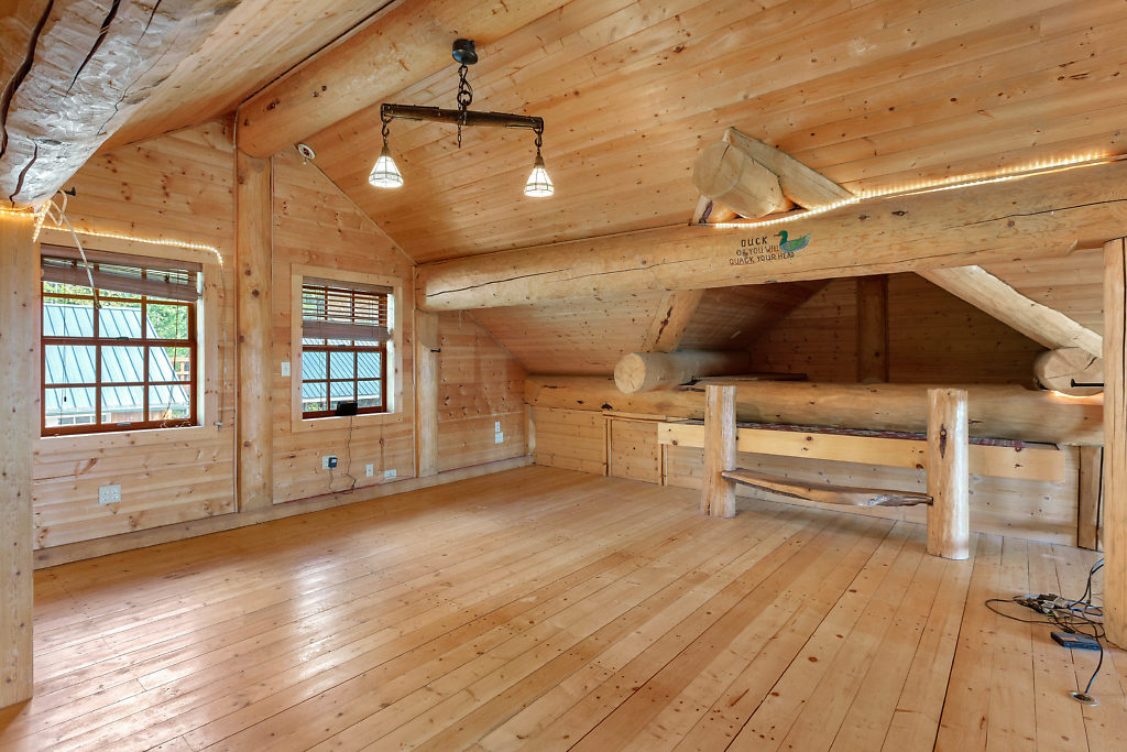 Welcome to the 3rd bedroom (complete with sleeping nest), an amazing play space, craft center, home gym--whatever you need...