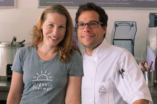 Gross Food, LLC - Lee and Darleen Gross met in 1992 while attending Johnson & Wales University. Their studies in the culinary and pastry arts laid the foundation for work in some of the country's top restaurants, including Al Forno in Providence, Rhode Island, Domaine Chandon in California's Napa Valley, and Payard Patisserie & Bistro in New York City. It wasn't until 1998 while at the Omega Institute for Holistic Studies that Lee and Darleen discovered macrobiotics, a theory and practice that would change the course of their careers, and lives, forever. Three years of intensive study at the Kushi Institute followed, earning the couple certification in macrobiotic cooking and counseling. This experience led to an extended stint as personal chefs to actress Gwyneth Paltrow, and then national recognition for their work at Los Angeles' ground breaking contemporary macrobiotic restaurant, M Cafe de Chaya. Lee and Darleen, now married with two daughters, reside in Westchester County, New York, and have consulted on multiple health-focused restaurant concepts, including Rye Brook's Organic Pharmer.