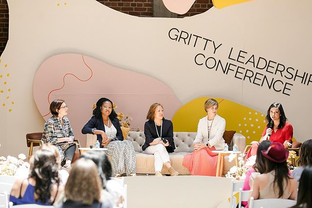 """When you are brave enough to show your emotion and show your heart, that's when you really connect with people"" -Elizabeth Fitzsimons, VP of Leadership at @sdchamber . We brought these seasoned executives to the #Gritty stage to discuss the role ""emotions"" play in leadership and each of them agreed that you cannot lead effectively without vulnerability. . Do you agree? How have emotions helped or hurt you during your leadership journey? What steps should be taken to normalize ""feelings"" in the workplace? Let us know in the comments below!"