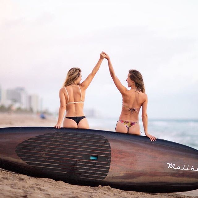 Tag a BFF 👯♀️ who you think would love the fit of HeatherLeigh Swimwear.⠀ T⃞H⃞E⃞ P⃞E⃞R⃞F⃞E⃞C⃞T⃞ C⃞H⃞E⃞E⃞K⃞Y⃞ B⃞I⃞K⃞I⃞N⃞I⃞⠀ •⠀ •No Digging Into Your Tush!🍑⠀ •⠀ 📸@hani_tee #perfectcheekybikini #bikinis #swimwear #bathingsuit #bff #bestfriends #squad #paddleboard #cheekybikinis #